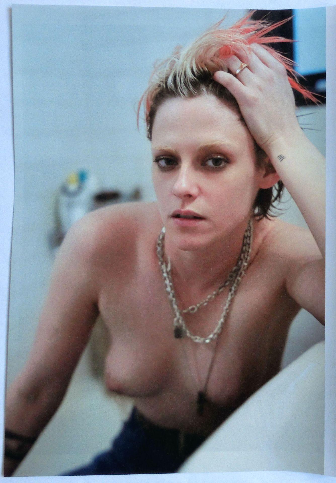 Kirsten johnston sitting topless, horny goth slut