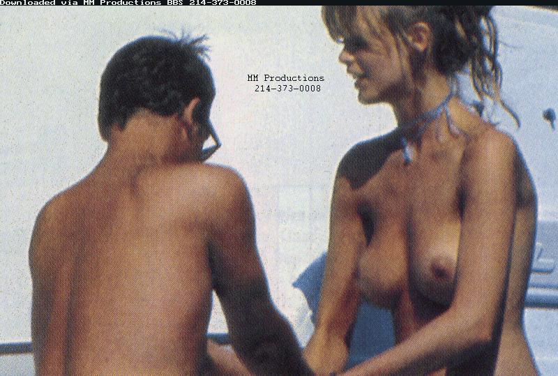 Claudia Schiffer Nude Sex Scene