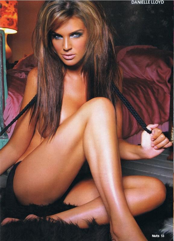 Miss great britain danielle lloyd nudes leaks