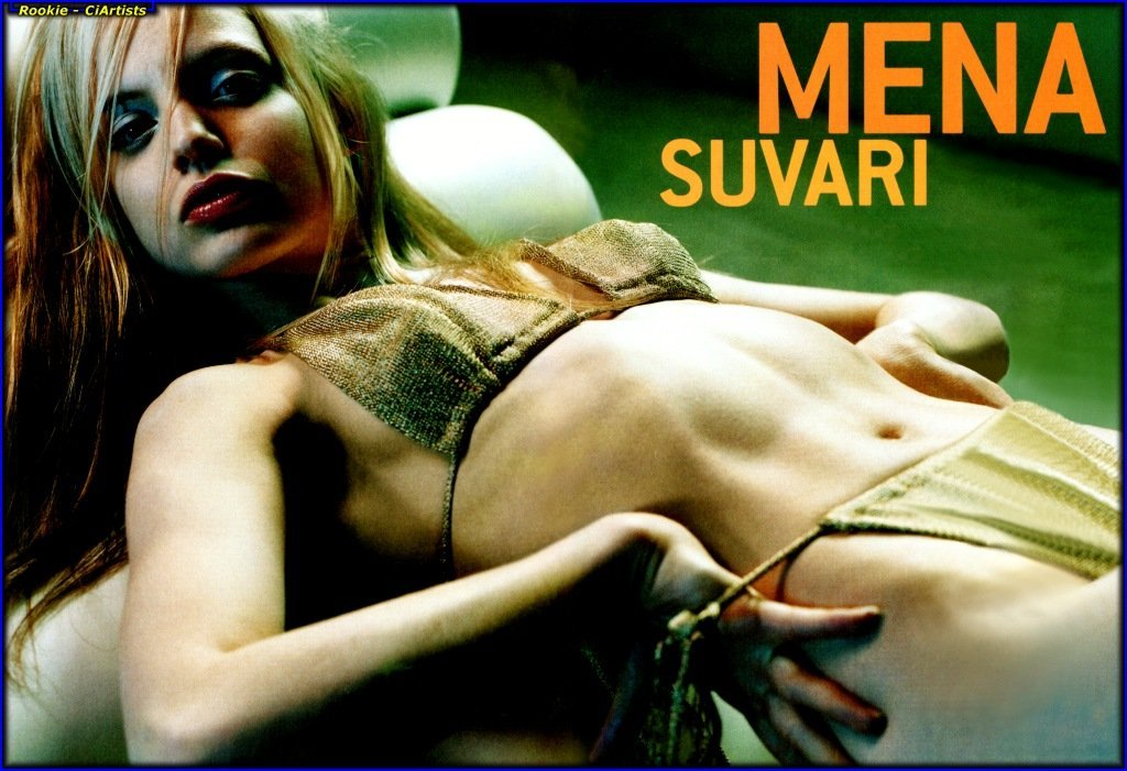 Naked pictures of mena suvari